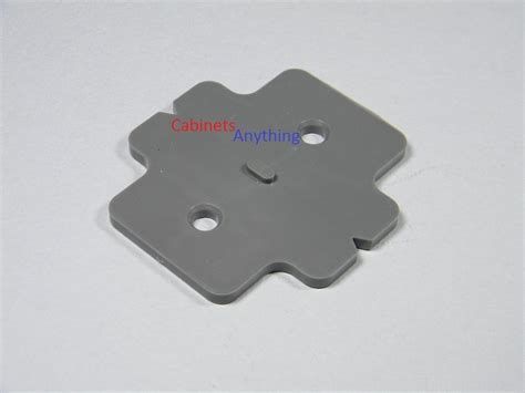"""Blum Stack able 3mm (1/8"""") Frame less Mounting Plate"""