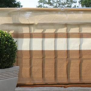 Sichtschutzmatten Kunststoff Meterware : balkonbespannung pe design terrakotta beige sichtschutz ~ Eleganceandgraceweddings.com Haus und Dekorationen