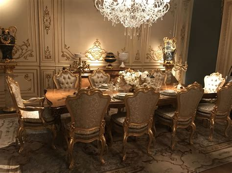 luxury dining rooms  inspiring baroque style