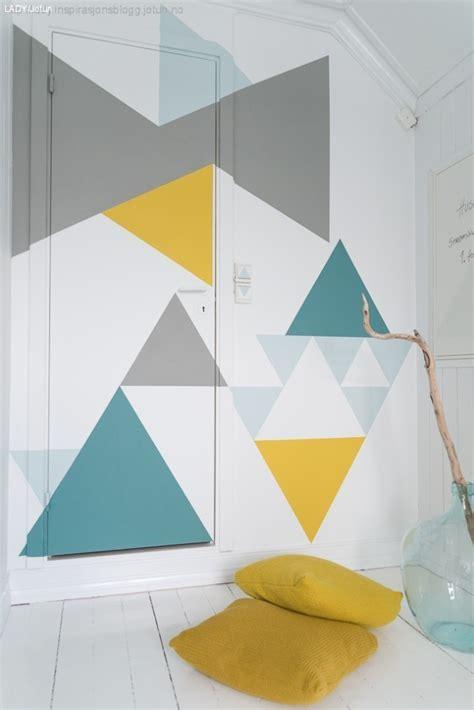geometric wall design 34 cool ways to paint walls