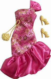 achat habit barbie fashionistas vetement barbie robe With tapis chambre bébé avec robe de soirée fleur