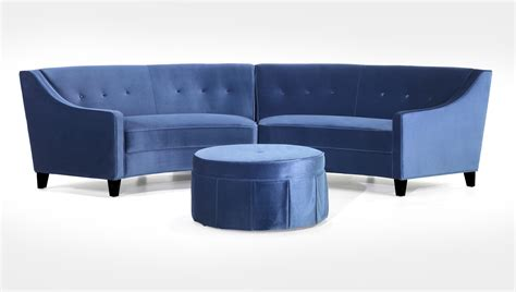 Small Round Sofa Definitely Will Have A Curved Sofa Ger