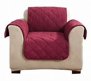 sure fit reversible suede sherpa chair furniture friend With furniture covers qvc