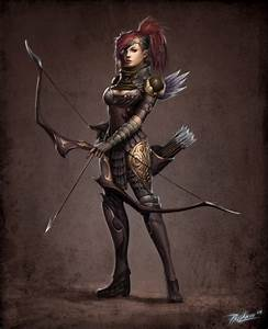 Awesome drawings of female warriors by Shiramune! | Fun News