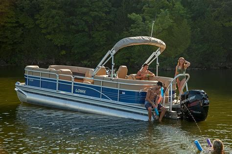 New Pontoon Boats by 2017 New Lowe Pontoon Boat For Sale Winslow Me