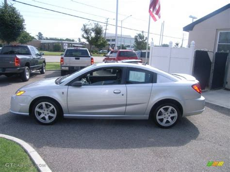Silver Nickel 2006 Saturn Ion Red Line Quad Coupe Exterior