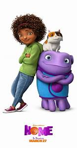 Meet Oh, Tip, and Pig from the movie Home Sponsored by