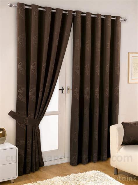 Dark brown curtains : Furniture Ideas   DeltaAngelGroup