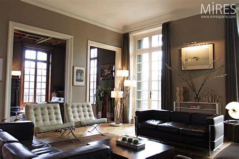 chambre avec bruxelles cuir blanc et noir c0202 mires