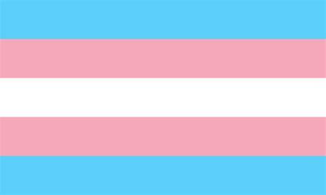 trans flag colors file transgender pride flag svg