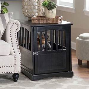 designer dog crate furniture home design With decorative dog crates furniture
