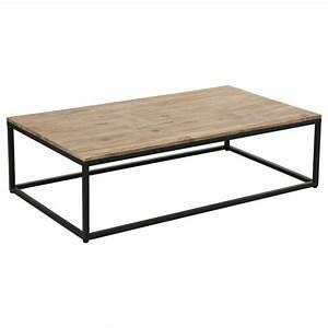 table basse quotedenaquot 115cm marron With tapis enfant avec canapé faible encombrement