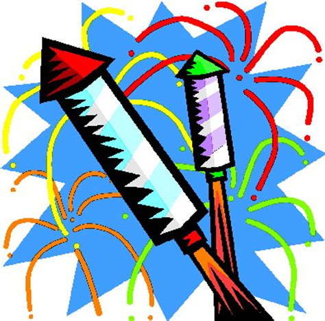 Clipart Feuerwerk Collection