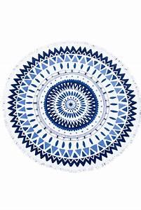 Serviette Ronde Eponge : serviette de plage ronde boutique maillot en ligne monpetitbikini ~ Teatrodelosmanantiales.com Idées de Décoration