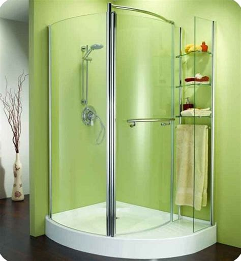 Shower Units by Corner Shower Units For Small Bathroom Solving Space