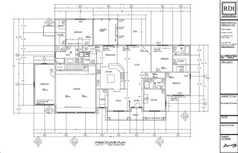 residential floor plan modern residential architecture floor plans home design
