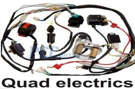 Atv Wire Harness Wiring Cdi Assembly Quad