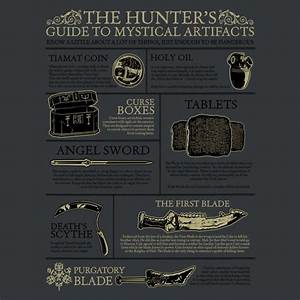 The Hunters Guide To Mystical Artifacts