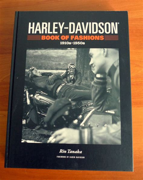 Book Harley Davidson by Harley Davidson Book Of Fashions 1920s 1950s Cover