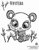 Coloring Panda Pages Cartoon Popular sketch template