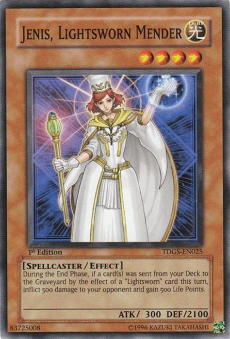 Best Lightsworn Deck 2011 by Yu Gi Oh Jenis Lightsworn Mender Yugioh