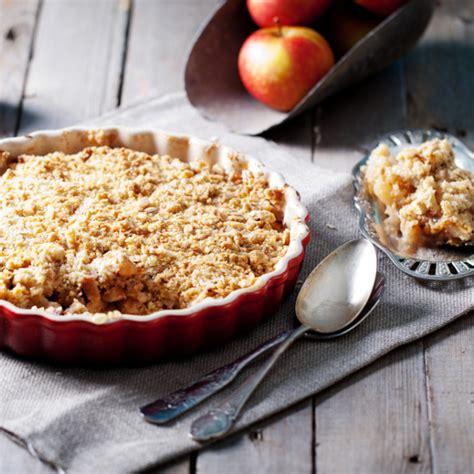 recette crumble aux pommes