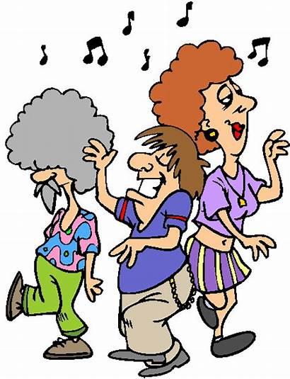 Clipart Dancing Clip Cliparts Dansen Tanzen Activiteiten