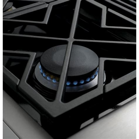 zgundpss monogram  professional gas rangetop   burners  griddle natural gas