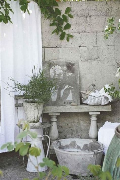 shabby chic garden decor shabby chic tin pinterest
