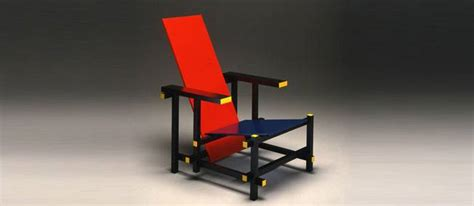 la chaise et bleu culte du design la chaise et bleu de gerrit