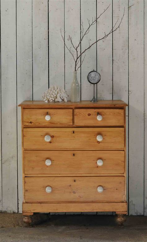 pine chest of drawers antique pine chest of drawers linen storage home barn