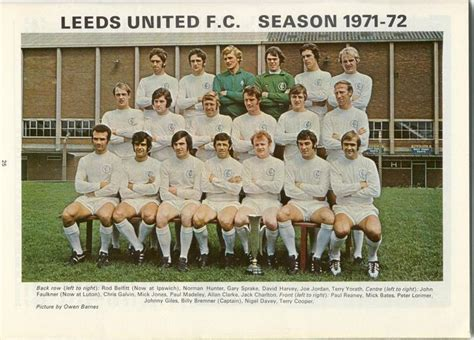From a simple haircut, a bespoke spray tan contouring service, sunbeds, waxing and work on nails (like manicures. Leeds Utd 1971-72 (The Best Ever) | leeds united ...