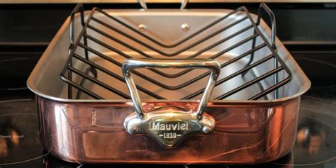 mauviel copper tri ply roaster  rack product review