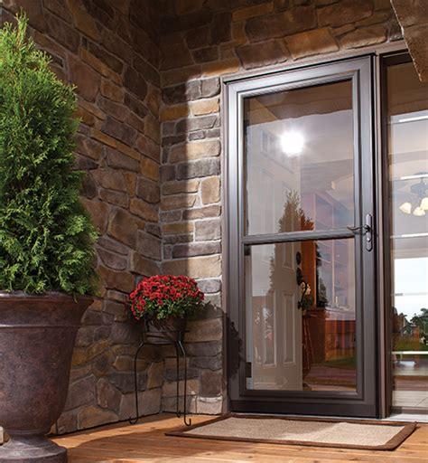 glass screen door retractable screens doors alpine glass windows doors