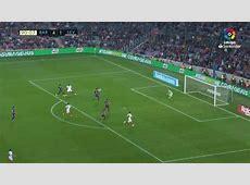 Gol de Muriel 42 en el Barcelona 42 Sevilla