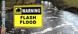 Areal flood advisory for Iron County – St George News