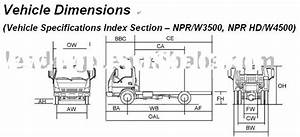 Isuzu Chassis Dimensions  Isuzu Chassis Dimensions Manufacturers In Lulusoso Com