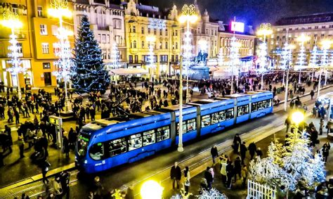 Zagreb Records Huge Pre-Christmas Tourism Growth   Croatia ...