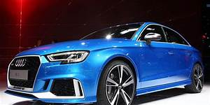 2018 Audi Rs3 Sedan Official Photos And Info  U2013 News  U2013 Car