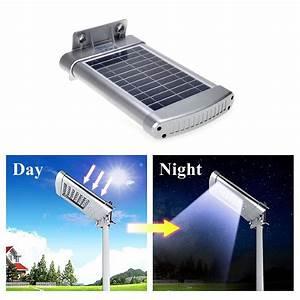 solar wall mount street lights outdoor waterproof deck With outdoor lighting with night sensor