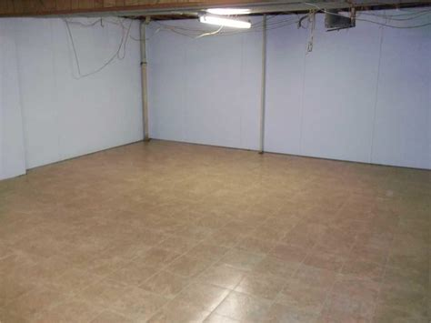 Basement Waterproofing Finished Basement Floor Tiles In