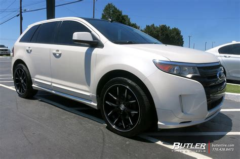 ford edge   lexani  twelve wheels exclusively