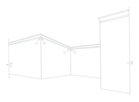 Cornice Installation by Bailey Interiors Architectural Plaster Cornice