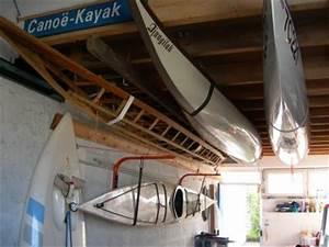 Rangement Plafond Garage : rangement des kayaks dans mon garage 2 blog de dplouepic ~ Melissatoandfro.com Idées de Décoration