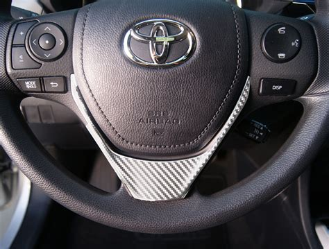 Toyota Steering Wheel by Toyota Corolla Carbon Fiber Lower Steering Wheel Accent