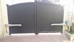 Brico Depot Portail Alu : portail coulissant motorise brico depot design innovant ~ Edinachiropracticcenter.com Idées de Décoration