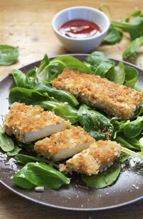 green cuisine nuggets croustillants de tofu katsu et leur sauce vegan
