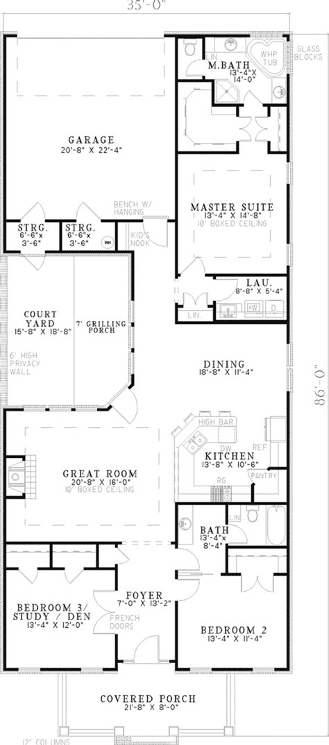 reinhold vacation cottage home plan   house plans