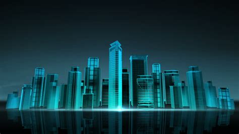 construction building city skyline  stock footage video
