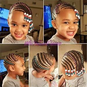 Coiffure Enfant Tresse : coiffure tresses nattes pour enfant afro afrodelicious salon pour cheveux naturels ~ Melissatoandfro.com Idées de Décoration